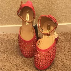 Other - Sparkling Coral Ballerina Shoes